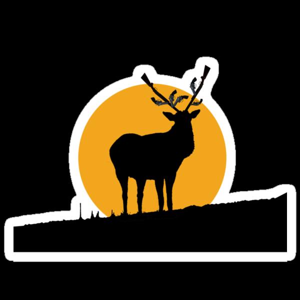 Gun Deer by sarcastro