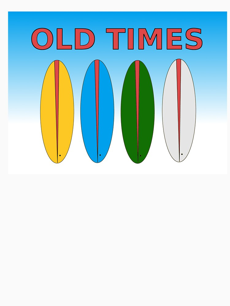 Surf old times funny surfboards by busynessusa