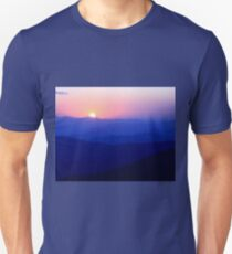 Mountain Sunset Unisex T-Shirt