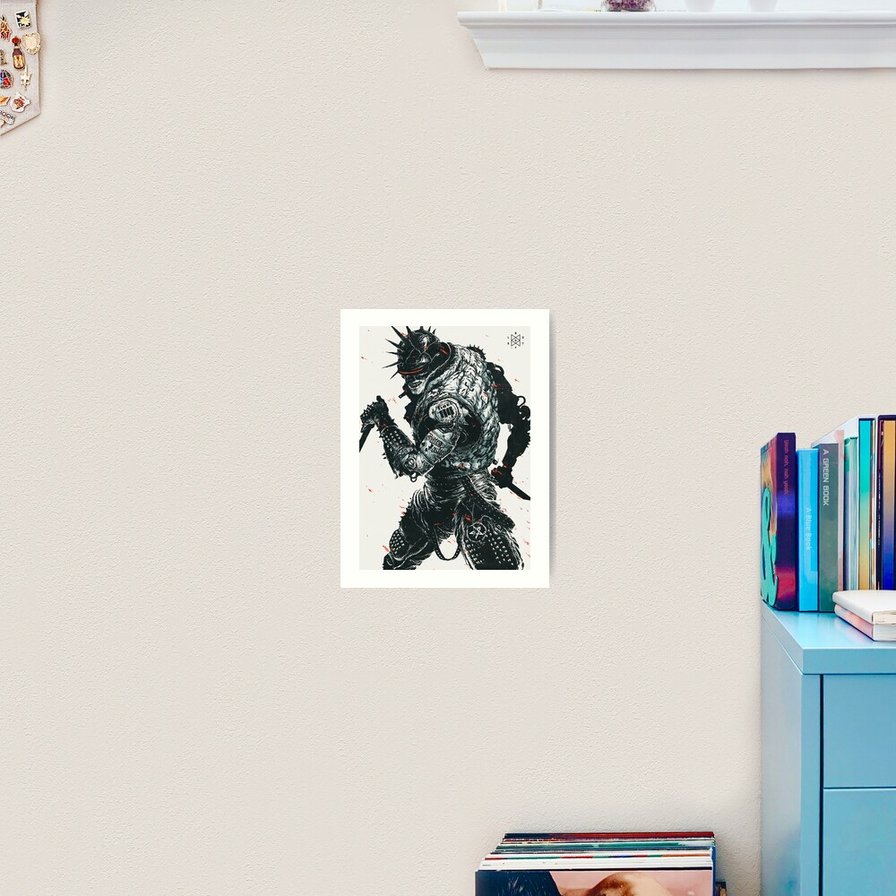 LOST BOY: HERO Art Print