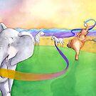 Elephant Dance by Nina Rycroft