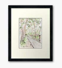 Coldwater Spring National Park, Minneapolis Minnesota Framed Print