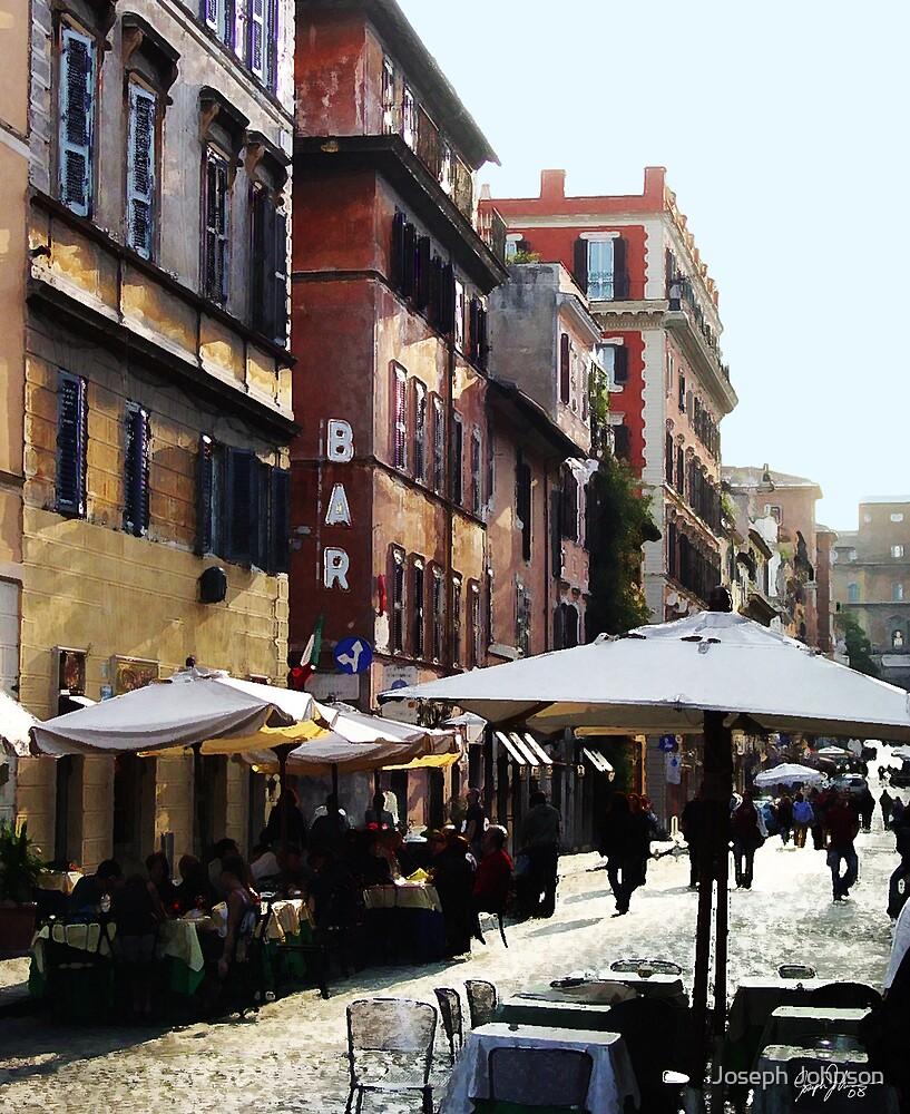 Modern Street in an Ancient City by Joseph Johnson