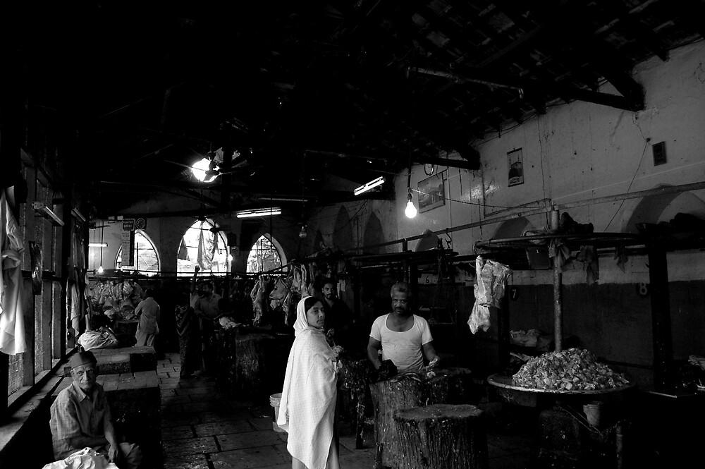 Muslim butchers in Pune, India by deanne2282
