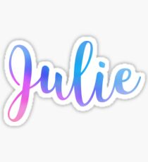 Julie Sticker