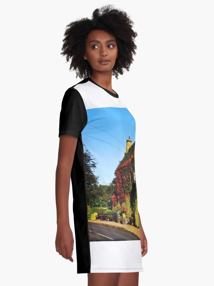 Alternative Ansicht von Herbstlicher Pub .... !! T-Shirt Kleid