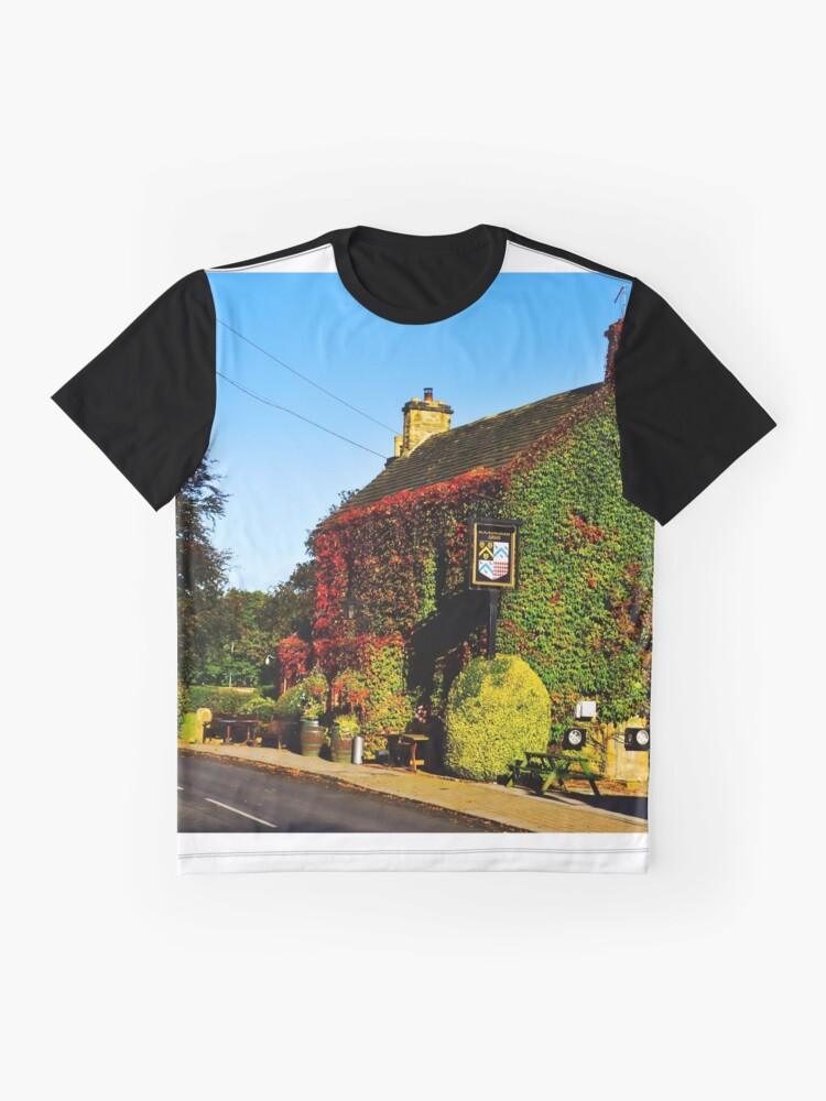 Alternative Ansicht von Herbstlicher Pub .... !! Grafik T-Shirt