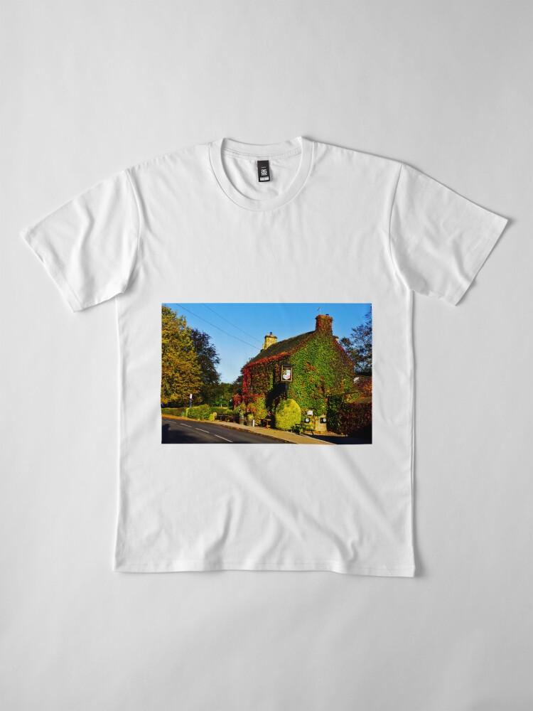 Alternative Ansicht von Herbstlicher Pub .... !! Premium T-Shirt