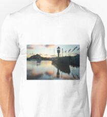 Hull Marina at Sunset Unisex T-Shirt
