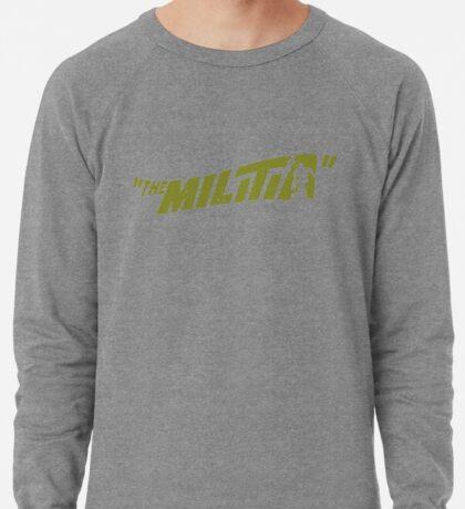 Gangstarr the Milita replica promo print 1998 Noo Trybe Lightweight Sweatshirt