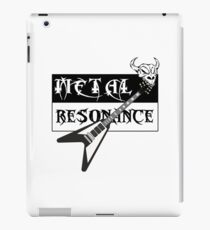 Metal Music Flying V Guitar Resonance iPad Case/Skin