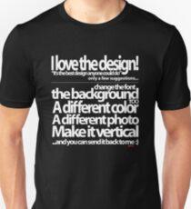 I love the design T-Shirt