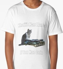 Khajiit haz wares - V.3 classic meme Long T-Shirt