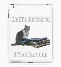 Khajiit haz wares - V.3 classic meme iPad Case/Skin