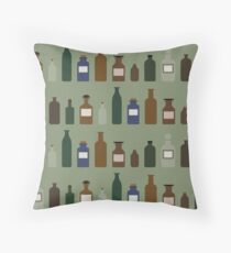 In The Care Of An Apothecary Throw Pillow