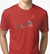 Litten Evolution Tri-blend T-Shirt