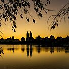 Central Park Sunset by Chris Lord
