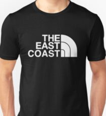 East coast hip hop tribute print - Jay-z Brooklyn Nets North face T-Shirt