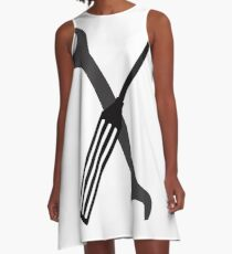 wrenches and screwdrivers A-Line Dress