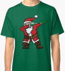 Dabbing Santa T-Shirt Funny Santa Claus Christmas Dab Tee  Classic T-Shirt
