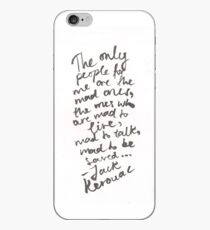 JACK KEROUAC: ON THE ROAD iPhone Case