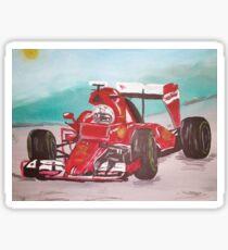 Ferrari race Sticker