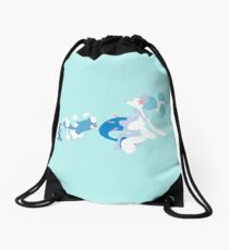 Popplio Evolution Drawstring Bag