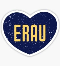 Embry-Riddle Aeronautical University Heart Sticker