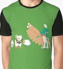 Rowlet Evolution Graphic T-Shirt