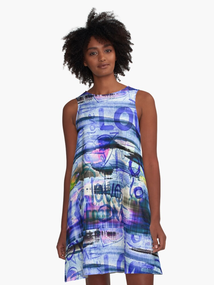 Love is a Beautiful Thing A-Line Dress Front
