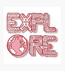 Explore Photographic Print