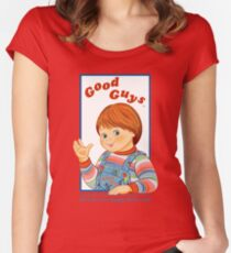 Good Guys | Child's Play Women's Fitted Scoop T-Shirt