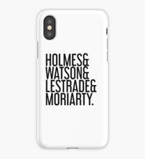 Sherlock Holmes Crew iPhone Case/Skin