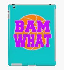 Bam What Basketball iPad Case/Skin
