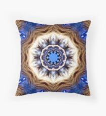 The Navajo Lion Throw Pillow