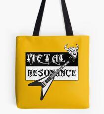 Metal Music Flying V Guitar Resonance Tote Bag