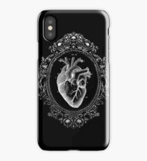 Anatomical Heart in Frame iPhone Case/Skin
