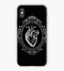 Anatomical Heart in Frame iPhone Case