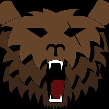 Raging Bearclaw | Vector by Whyking