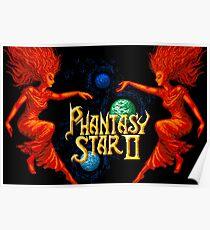 Phantasy Star 2 (Genesis Title Screen) Poster