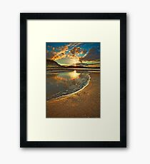 Dunree Sunset Framed Print