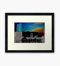 Beautiful City Framed Print