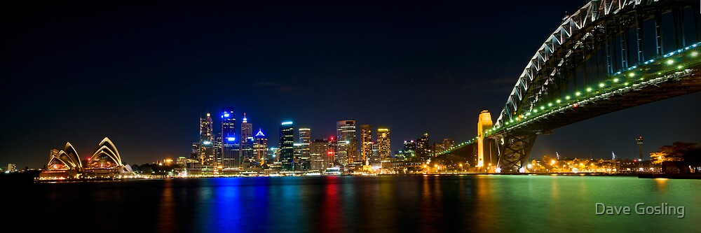 Sydney by Night by Dave  Gosling Photography