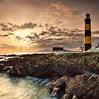 Lighthouse Sunset by Derek Smyth