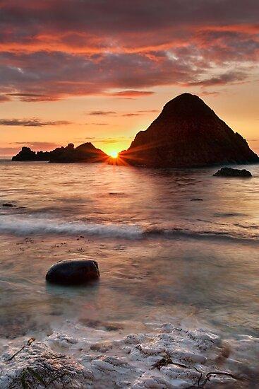 Shoreline Sunset by Derek Smyth