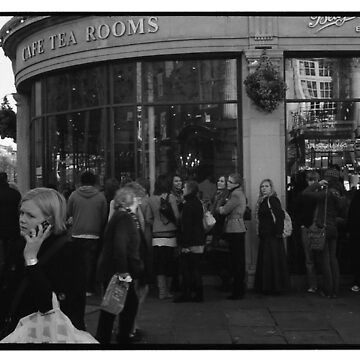 "Queuing for Tea at ""Bettys"" by namke"