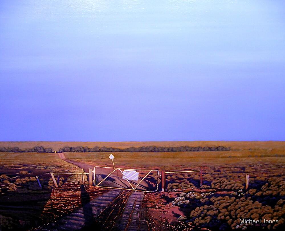 shut the bloody gate. by Michael Jones