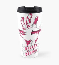 Killer Design - Hot Pink Travel Mug