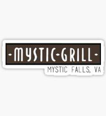 Mystic Grill Sticker