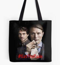 Eat the Rude #Hannigram Tote Bag